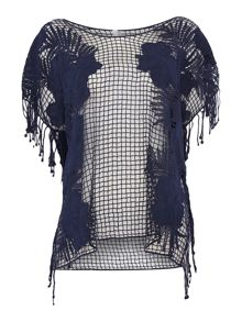 Seafolly Coast To Coast Lace Works Kaftan