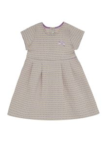 Benetton Girls textured shirt dress