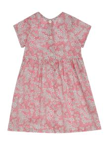 Benetton Girls Floral smock dress