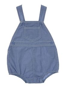 Benetton Boys Chambray dungaree