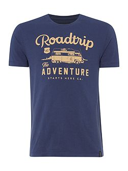 Roadtrip Graphic Crew Neck T-Shirt