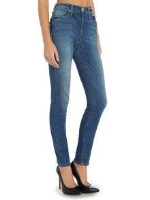 True Religion Harper high rise skinny jean in touch of venice