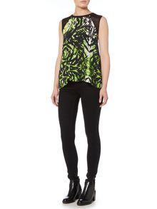 Label Lab Jungle print blouse