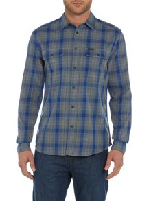 Wrangler Regular fit large check shirt