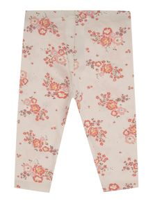 Benetton Girls Floral leggings