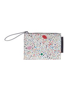 Lulu Guinness Grace multi-coloured medium pouch