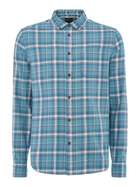 Criminal Massey Long Sleeve Check Shirt