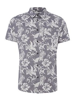 Morris Short Sleeve Print Shirt
