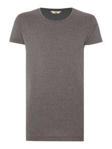 Lee Regular fit crew neck marl t shirt