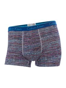 CK one static print single cotton trunk