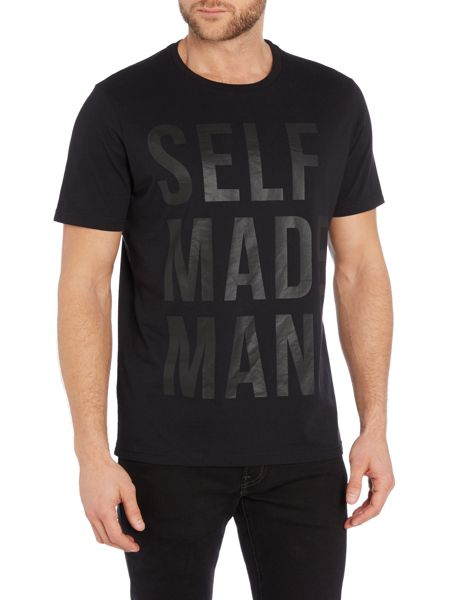 Lee Regular fit self made man printed t shirt