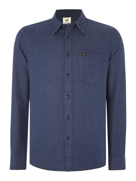 Lee Regular fit plain textured shirt