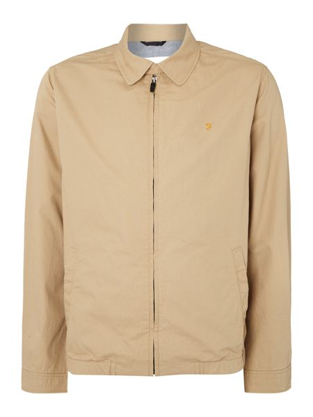 Farah Hartley Harrington Zip Thru Jacket