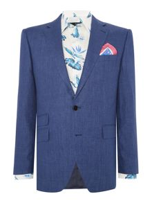 New & Lingwood Burdoch SB2 Linen Suit Jacket