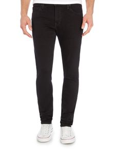 Malone ink black skinny fit jean