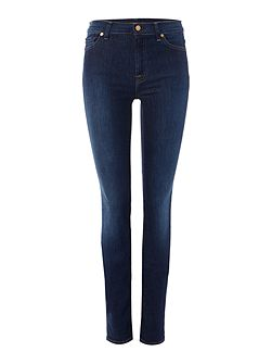 Rozie high rise skinny jeans in long boston
