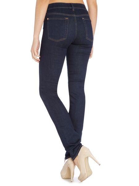 7 For All Mankind Rozie high rise skinny jeans in long beach dark
