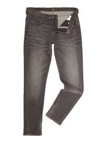 Lee Arvin grey worn tapered fit jean