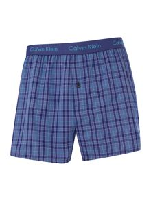 CK one single olin plaid trunk