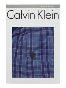 Calvin Klein CK one single olin plaid trunk