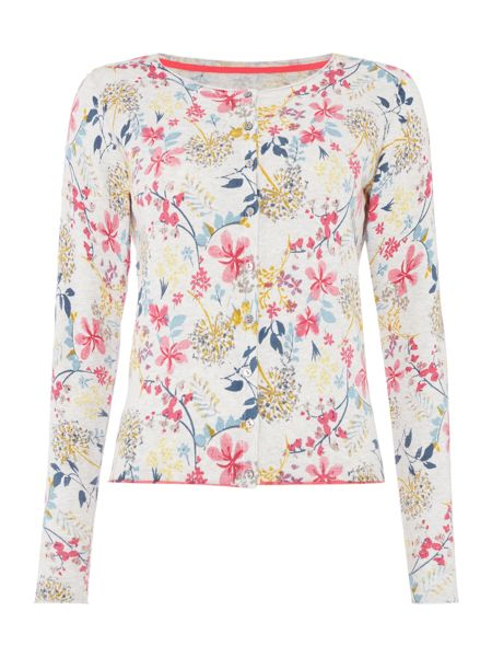 LILY & ME Printed button up cardigan