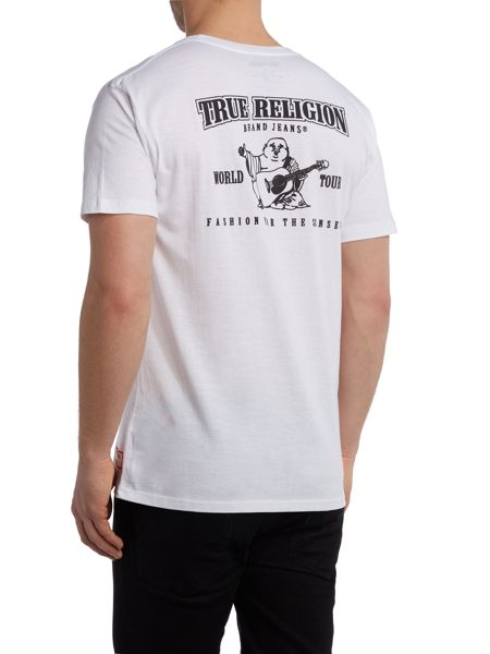 True Religion Regular Fit Traditional Logo T Shirt