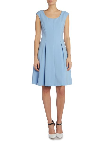 Ellen Tracy Soft fit and flare dress