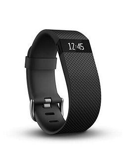 Charge HR Wireless Heart Rate Wristband Black