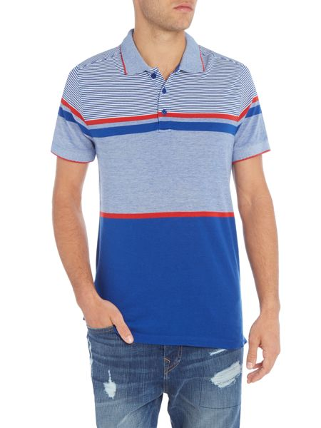Duck and Cover Illusion polo shirt