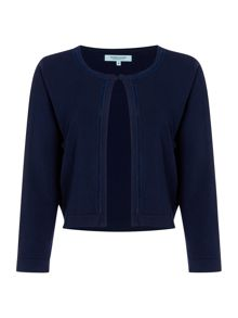 Dickins & Jones Velvet Trim Shrug