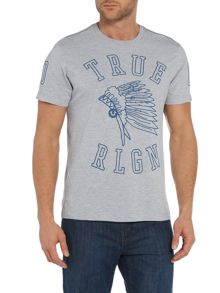 True Religion Regular Fit Headdress Graphic T Shirt