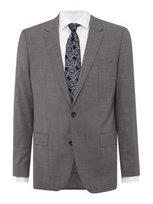 Hugo Boss Huge Genius Super 120 Texture Suit