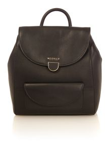 Modalu Flora black small back pack