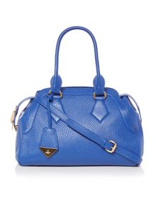 Vivienne Westwood Kensington blue large shoulder bag