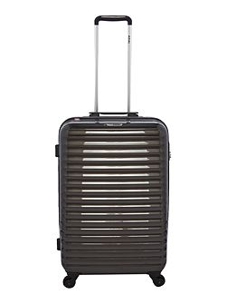 Axial elite charcoal 4 wheel hard medium suitcase