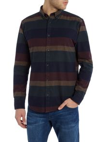 Only & Sons Horizontal Stripe Long Sleeve Shirt