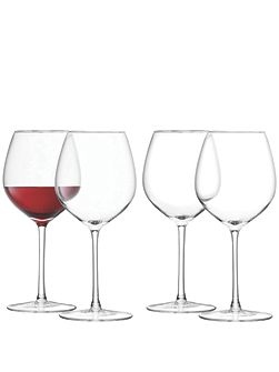 24 Red Wine Glasses, 400ml
