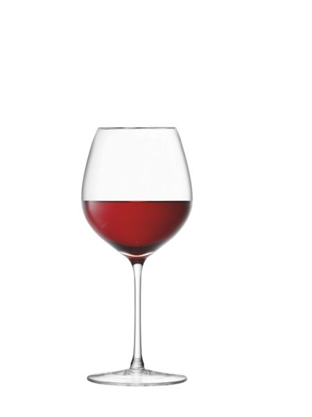 LSA 24 Red Wine Glasses, 400ml