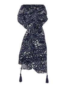 LILY & ME Printed summer scarf