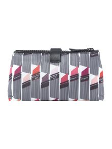 Lulu Guinness Multi-coloured double cosmetic bag