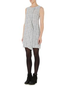 Therapy Gabi Grid Dress