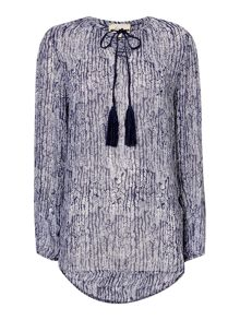 Dakota drift printed tunic