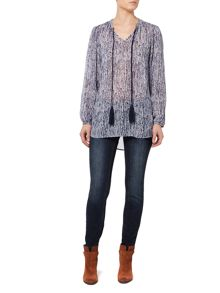 Linea Weekend Dakota drift printed tunic