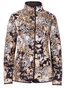 Reversible Jacket with Animal Print