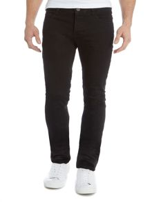 Anerkjendt Slim fit black jean