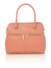 Modalu Pippa pink small tote bag