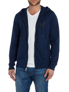 True Religion Crafted With Pride Zip Up Hoodie