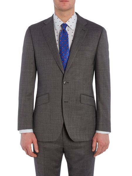 New & Lingwood Chiswick SB2 Notch Lapel Oxford Suit Jacket