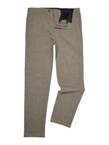 Linea Stanley Crosshatch textured trouser