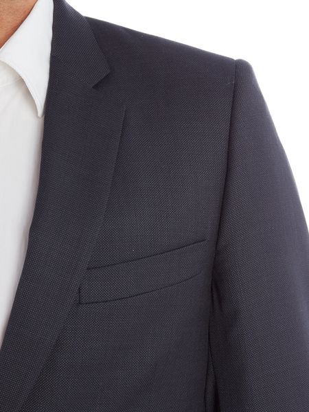 PS By Paul Smith Birdseye Suit Jacket